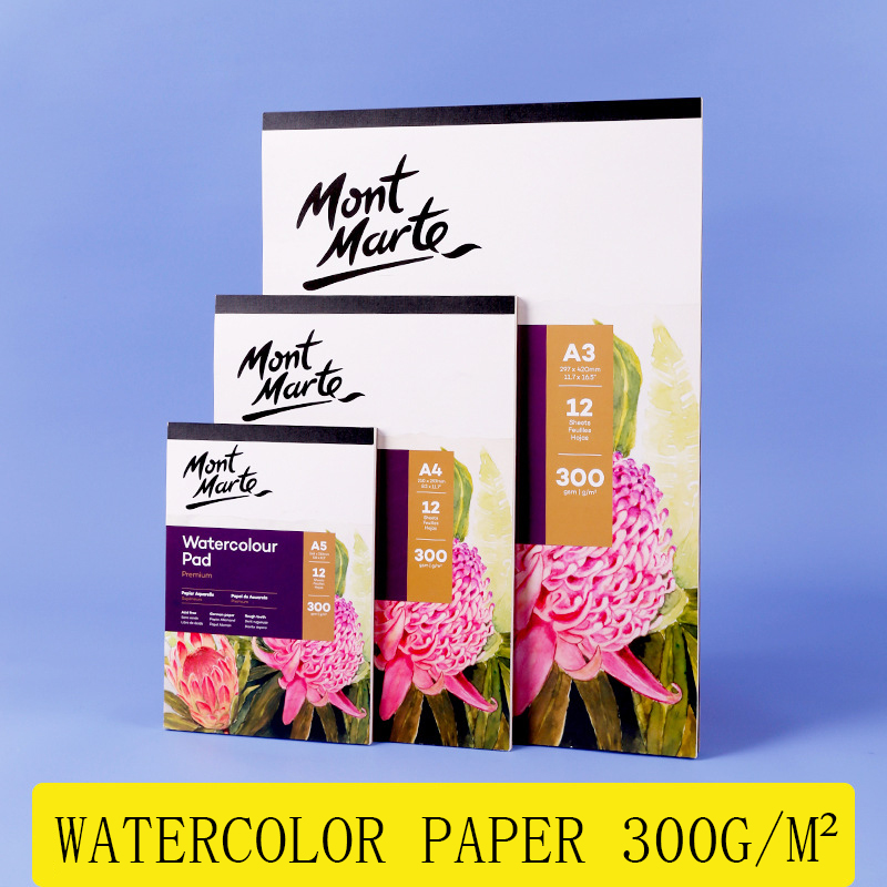 A3/A4/A5 Watercolor Sketchbook 180g/300g/m2 Water Color Drawing Paper Book Student Transfer Paper Papel Acuarela Art Supplies