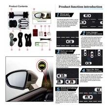 Araba için oBD OBD2 evrensel araba kör nokta izleme sistemi dikiz sensörü izleme sistemi