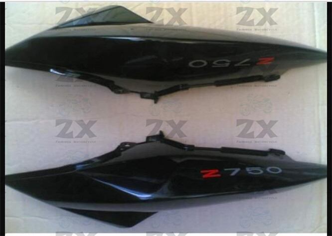 Motorcycle Fairing Kits For  Z750 2009 2010 2011 2012 2013  ABS Plastic Upper Tail  Fairings Compression No Injection B01