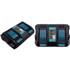 DC18RD 14.4V/18V Li-Ion Battery Charger 4A 120W For Makita Power Tool Battery with Dual USB Port(China)