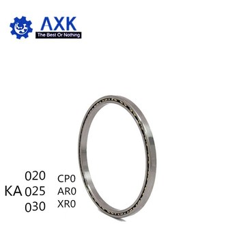 Thin Section Ball Bearing KA020AR0/KA025CP0/KA030XP0 (2x2.5x0.25 inch) For Robotic Bearings  Reail-silm thin ball bearings