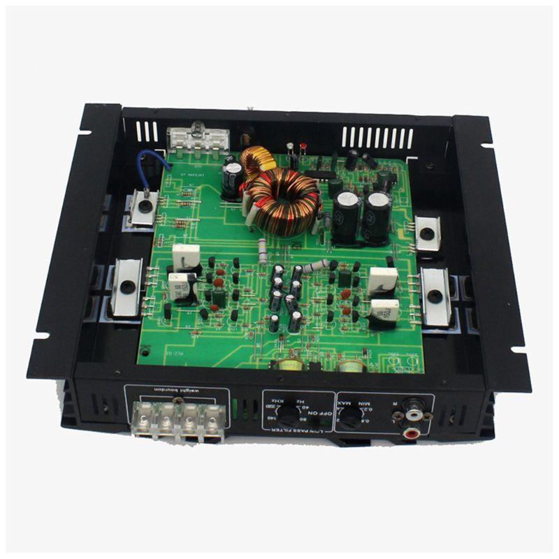 C-236 3800W 2 canales de Audio del coche 12V CC filtro de paso bajo Subwoofer 95AF - 3