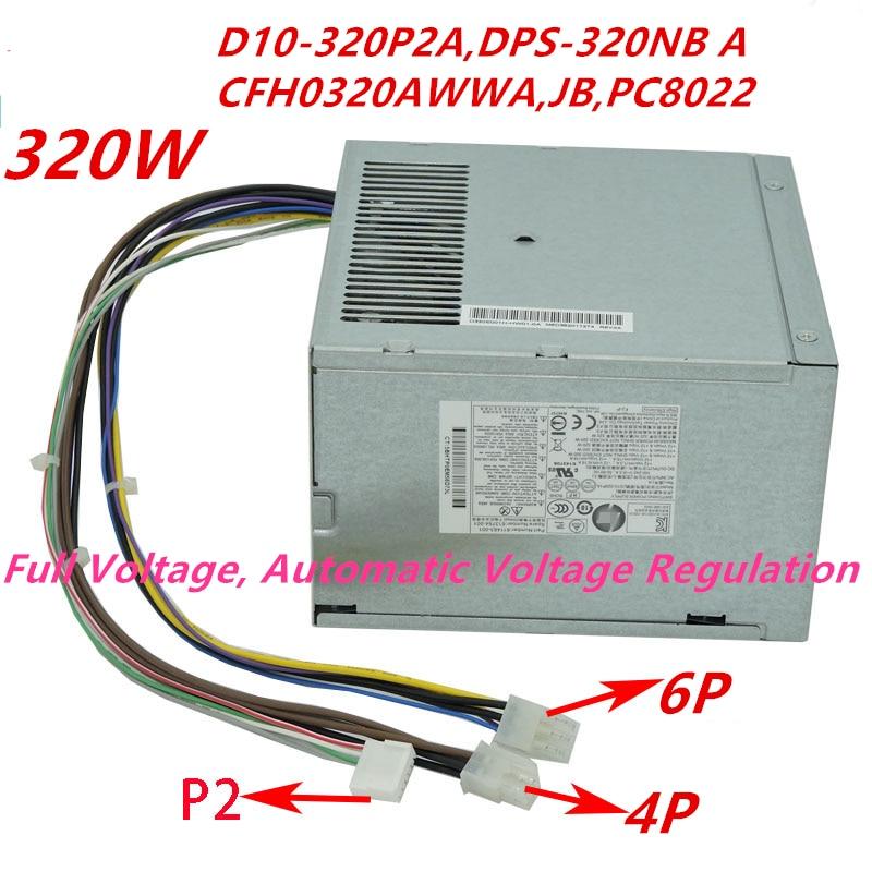 New HP ATX 320w CFH0320AWWA D10-320P2A Power Supply