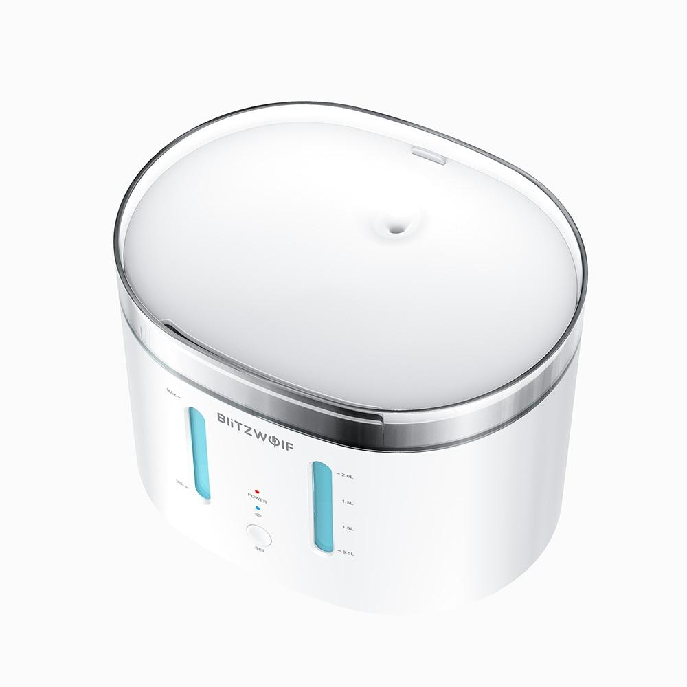 app controle filtro dispensador água pet potável tigela
