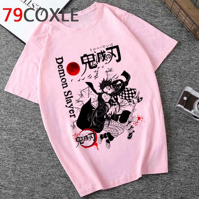 Demon Blame Funny Cartoon Tshirt Unisex Kimetsu No Yaiba T-shirt Demon Slayer Fashion Graphic T Shirt Anime Top Tees 5