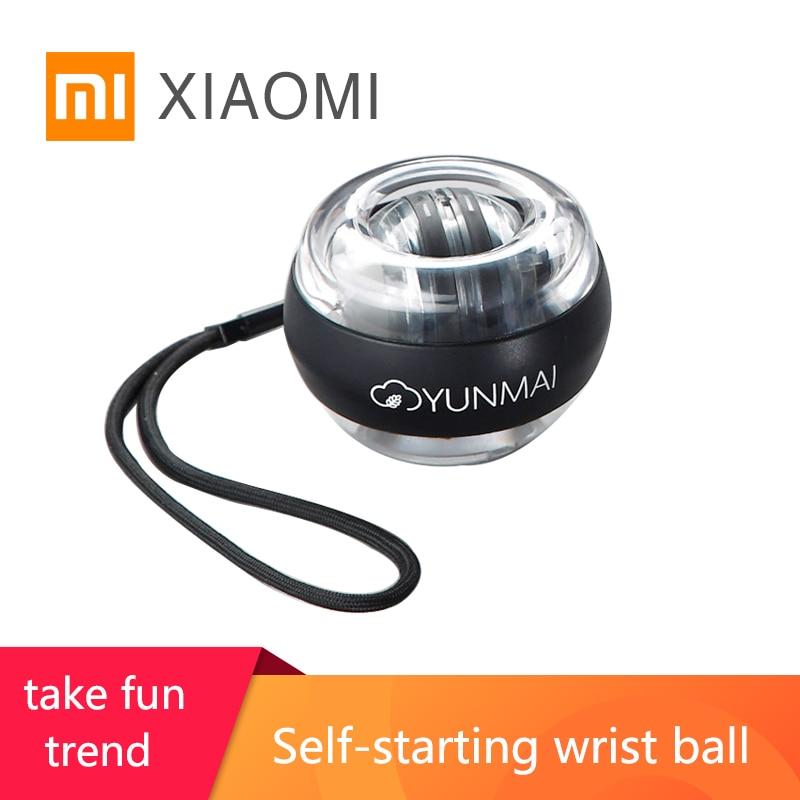 Xiaomi mijia yamani bilek topu süper gyro gyro egzersiz öz-başlangıç kavrama kas eğitimi rölyef basınç kemeri renk ışık taşınabilir fitness ekipmanları parmak kol gevşeme enstrüman dekompresyon oyuncak