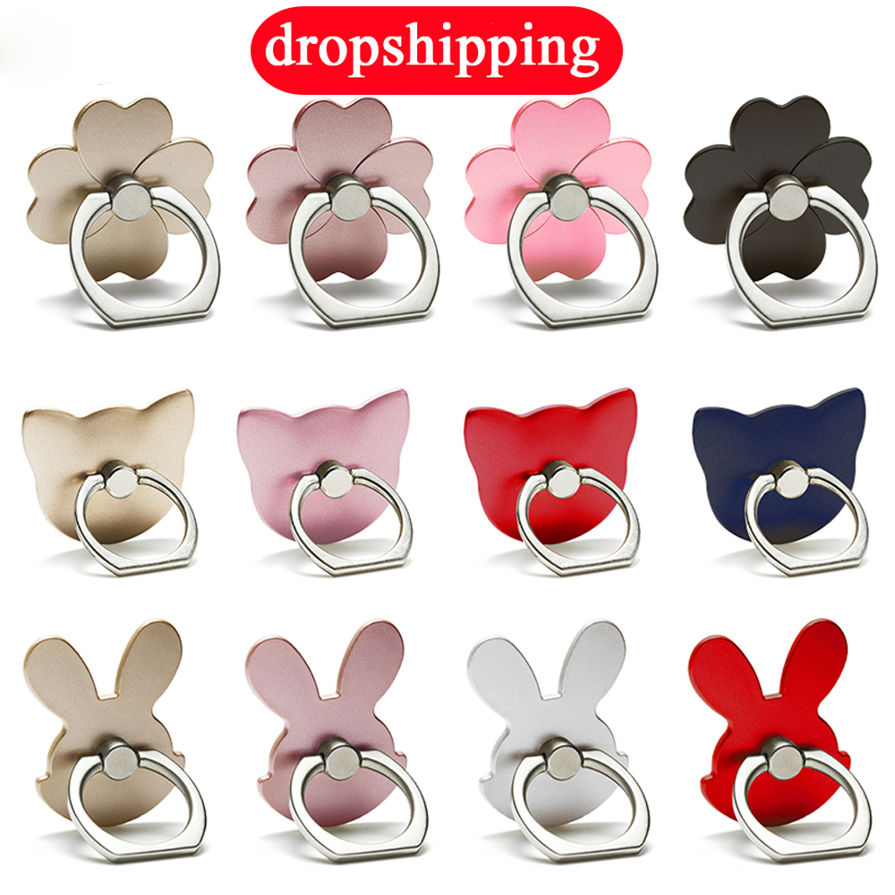 drop shipping mobile phone holder stand accessories ring mount grip support cell cellphone finger holder round support desk