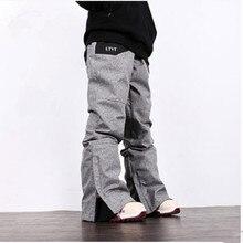 LTVT брендовые лыжные брюки для женщин и мужчин, профессиональные зимние штаны для сноуборда, уличные спортивные панталоны, лыжные женские походные лыжные брюки