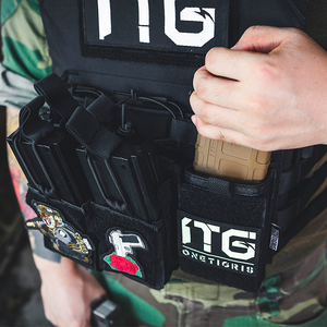 Image 3 - Onetigris Tactische Molle Open Top Magazine Pouch Single Rifle Ammo Insert Holster Snelle Ak Ar M4 Famas Mag Pouch