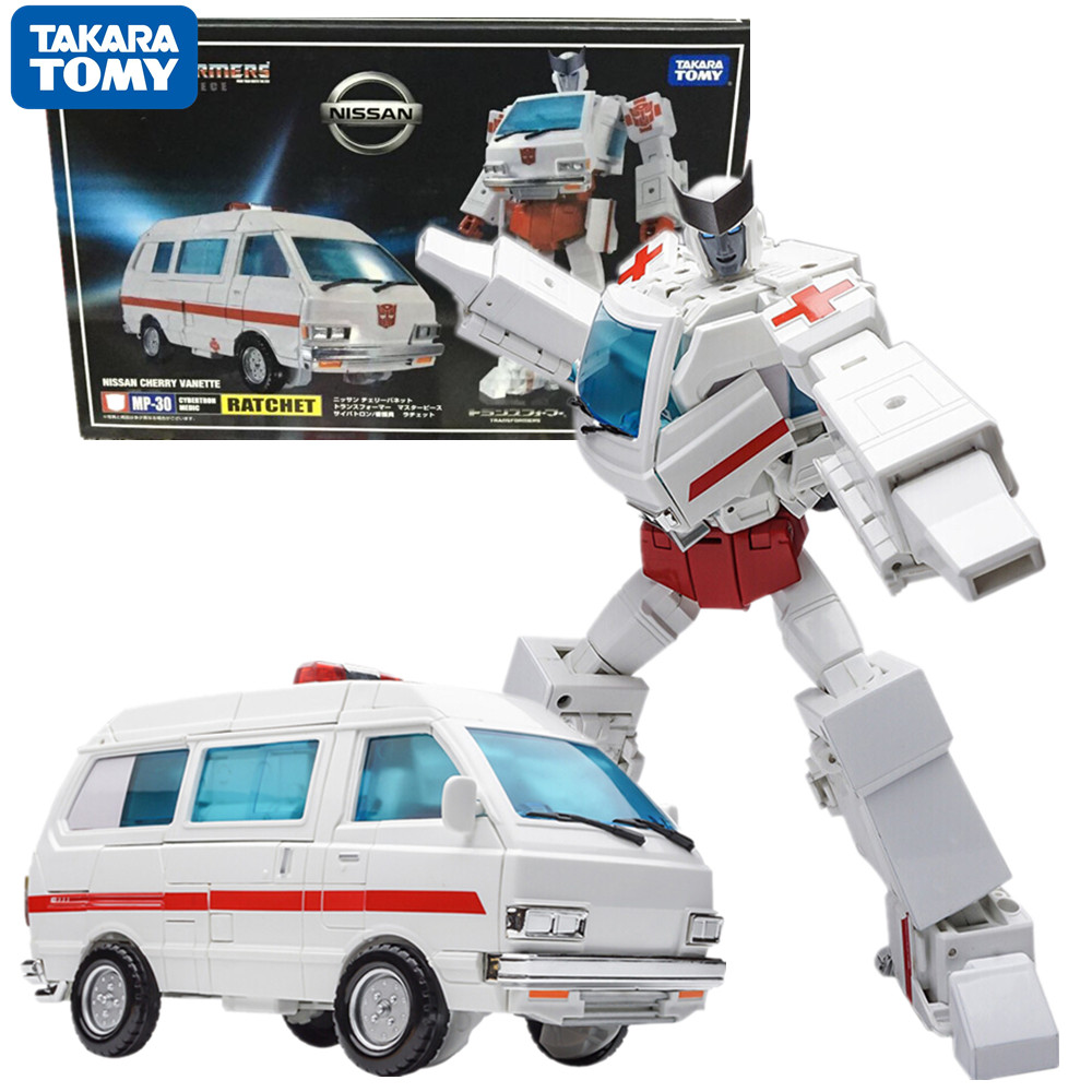 TAKARA TOMY Transformation G1 TKR Master Piece Series KO MP-30 трещотка Коллекционная модель игрушек