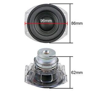 Image 2 - Alto falante portátil de 3 polegadas 4ohm/30w, espuma de neodímio em profundo baixo profundo + jogar micro 1 peça