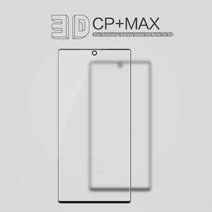 Взрывозащищенное Закаленное стекло Nillkin 3D CP + MAX для Samsung Galaxy Note 9 Note 10 Note10 5G, защита экрана с полным покрытием