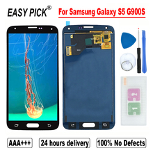 Für Samsung Galaxy S5 G900S G900F G900M G900K G900LG900A G900T G900V LCD Display Touchscreen Digitizer Montage