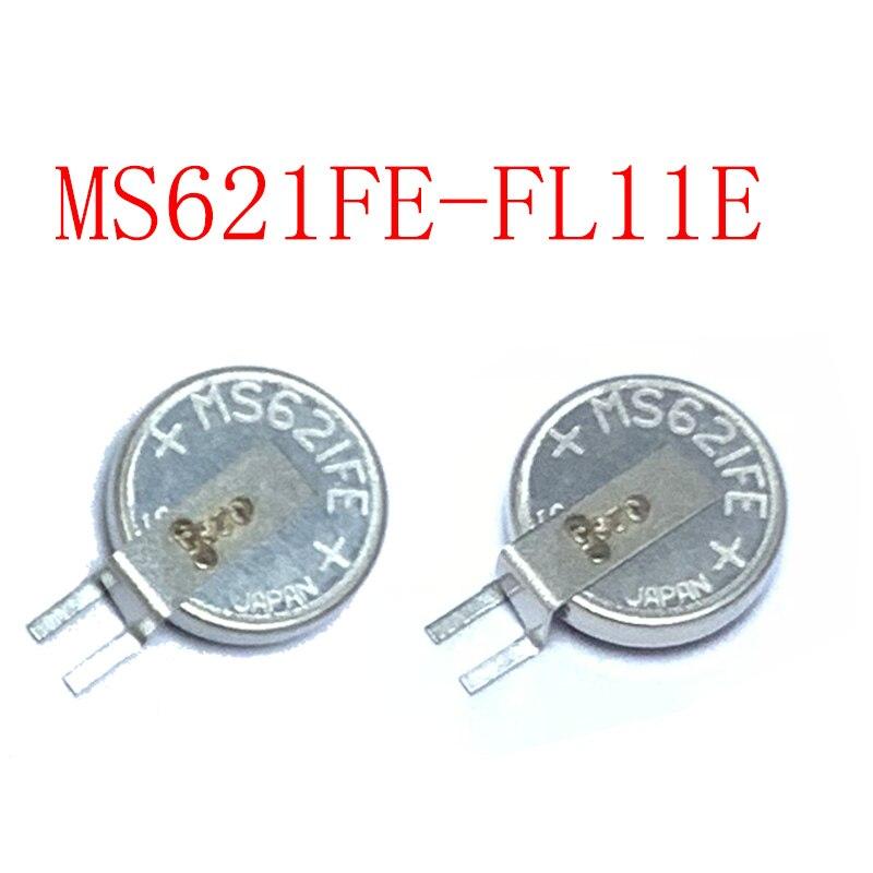 2PCS MS621FE-FL11E Seiko MS621FE ML621-TZ1 5.5mAh Rechargeable 3V Back up Battery