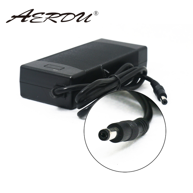 AERDU Adaptador de fuente de alimentación de cargador 3S, 12,6 V, 5A, paquete de batería de litio de 12V, baterías de ion de litio, convertidor de enchufe de CA CC EU/US/AU/UK
