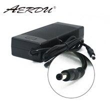 Caixa de alimentação aerdu 3s 12.6v 5a, para carregador de bateria de lítio 12v ue/eua conversor de tomada dc/au/uk ac