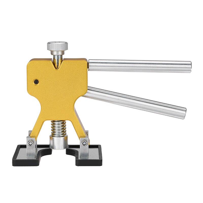 Kits de herramientas de coche herramienta de reparación de abolladuras sin pintura elevador de abolladuras + 18 pestañas herramienta de eliminación de abolladuras 1000W 110 V/220 V para el cuerpo del coche Reparación de abolladuras Reparación de inducción calentador de caja caliente juego de herramientas de reparación extractor