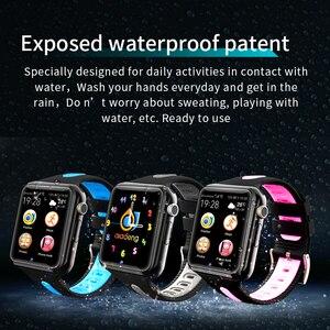 Image 3 - Đồng Hồ Định Vị Cho Bé Đồng Hồ Thông Minh Cho Trẻ Em Bé Trai Gái Apple Android Đồng Hồ Thông Minh Smartwatch Hỗ Trợ 2 SIM Thẻ TF MTK2503 Quay Số Cuộc Gọi tin Nhắn Push V5K