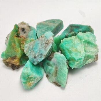 50 г натуральный кристалл амазонита, гравий, камень, кварцевый сырой драгоценный камень, минерал, образец, садовое украшение, энергетический камень, исцеляющий кристалл