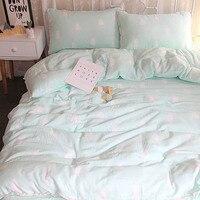 Baby Bettwäsche Eingestellt Bett Krippe 3 teile/satz Baumwolle Bettlaken Duvet Abdeckung kleinkind Kissenbezug Cartoon Druck bettwäsche BXX037