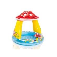 Children's Baby Tub Mushroom Awning Inflatable Pool Ocean Ball Pool Sand Bath Tu