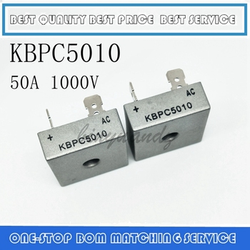 5PCS-20PCS KBPC5010 5010 50A 1000V Phases Diode Bridge Rectifier New And Original