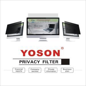 Image 3 - Filtro de privacidad YOSON 16:9 Pantalla de monitor LCD, pantalla ancha de 27 pulgadas, película anti peep, película anti reflejo
