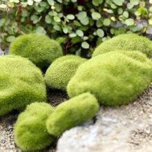 4 Size Artificial Foam Green Moss Plants Decorations Creative Home Garden Lawn Floor Adornments