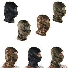 Hood-Mask Hunting Camouflage Balaclava Sunscreen Multi-Functional Cycling Wind-Sand Full-Face-Mask