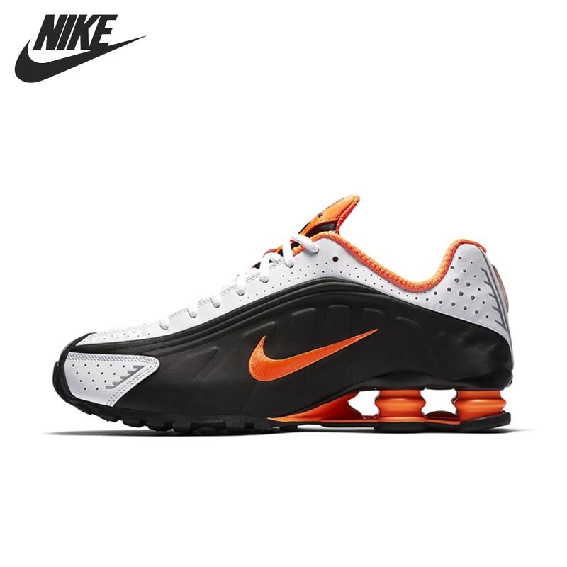 Original New Arrival NIKE SHOX R4 Men's Running Shoes Sneakers