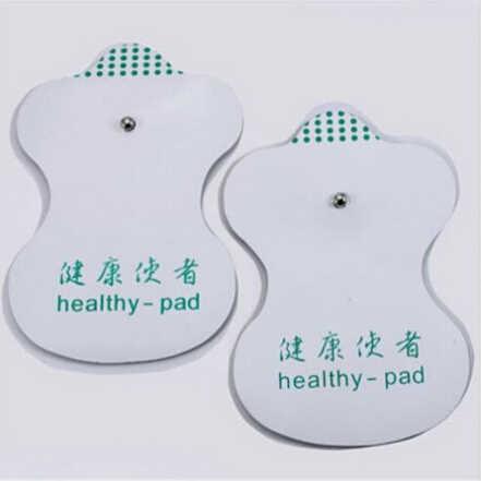 Masaż 2 szt. Białe elektrody do dziesiątek akupunktura terapia cyfrowa maszyna do masażu narzędzia cena fabryczna