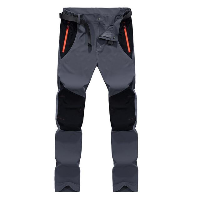 Tactical Waterproof Pants Men Cargo Spring Summer Quick Dry Trousers Men's Outdoor Sports Trekking Camping Fishing Pants 4XL 16