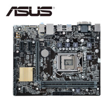 ASUS H110M-K placa base H110 Chipset Micro ATX LGA 1151 Dual DDR4 USB 3,0 VGA DVI PCI-E 3,0(China)