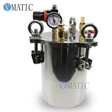 Contenedor de pegamento líquido SUS 304 3L, contenedor de presión de almacenamiento dispensador, envío gratis