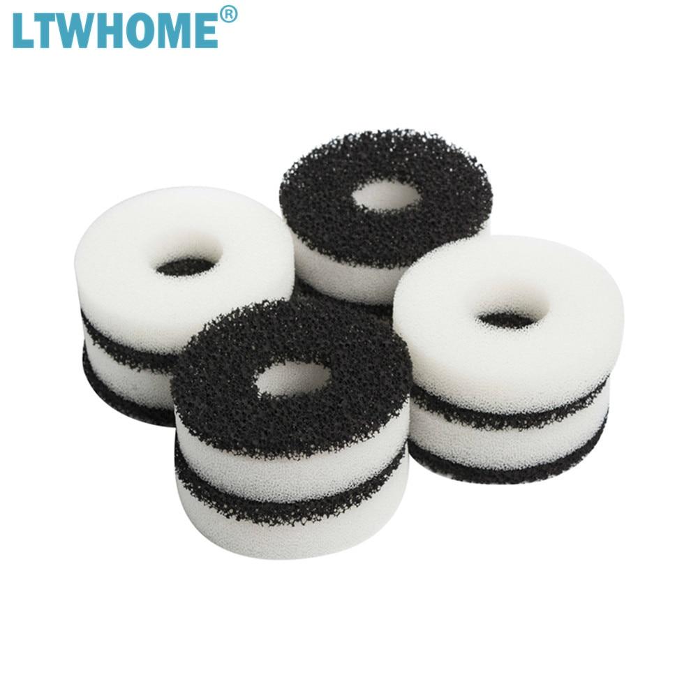 LTWHOME совместимые поролоновые и карбоновые кольца, подходящие для набора фильтров Biorb/сервисного комплекта