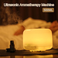 Aroma Diffuser Humidifier Romantic Warm Light Atmosphere Rendering Aromatherapy Decoration Essential Oil Button Switch