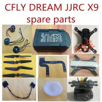 CFLY C-FLY sueño JJRC X9 recambios de cuadrirrotor RC shell cuerpo Motor de cuchillas CES cable de la Cámara de pantalla cahrge de control