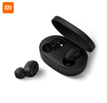 Original Xiaomi Redmi Airdots 5.0 TWS Bluetooth Earphone DSP Noise Cancellation With Mic handsfree AI Control Spots Headset