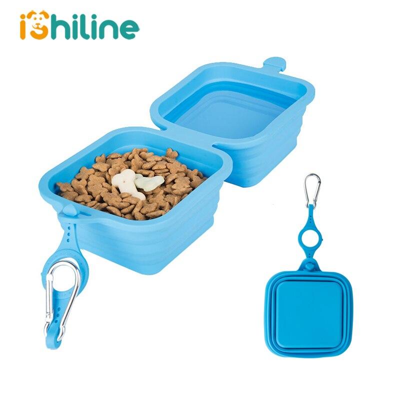 Multifunction Pet Silicone Folding Bowl Traveling Outdoor Portable Pet Food Bowl Dog Bowl Dog Food Bowl Water Bowl