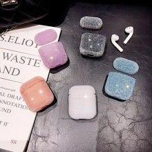 Роскошный 3d чехол с блестящими бриллиантами для apple airpods