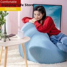 Lazy Sofa Bean Bag Chair Tatami Epp Single Bedroom Balcony Recreational Chair Fabric Sofa Creative Livingroom Bedroom Furniture