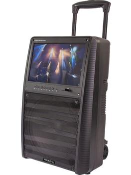 ALTAVOZ PORTATIL IBIZA SOUND PORT-TFT12 USB/SD/MP5/BT/TFT/UHF 400W-RMS - IBIZA SOUND