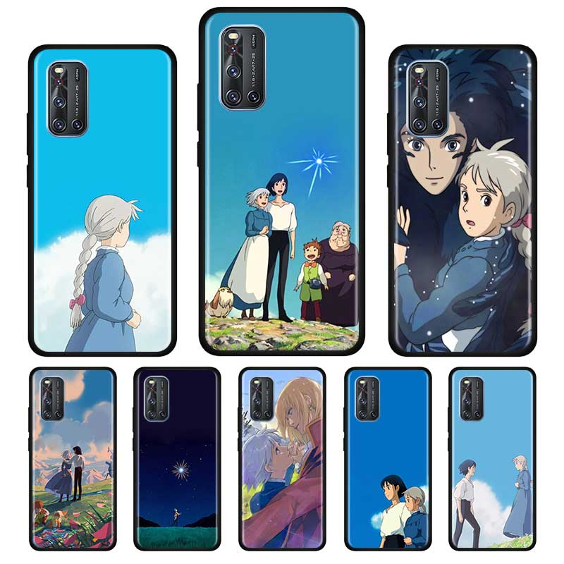 Ghibli Howl\'S Moving Castle Silicone Soft Case For Vivo S1 Y15 Pro Y12 Y17 Y19 Y30 Y50 V19 Z6 5G Iqoo Z1 3 5G Case Shell