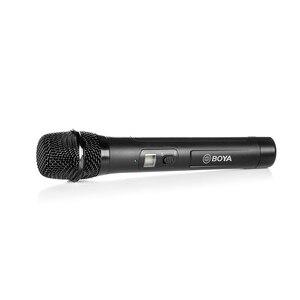 Image 3 - BOYA BY WHM8 Pro Handheld Mikrofon UHF Wireless Unidirektionale Dynamische Mic Sender für Bühne Film ENG BY WM8 Pro Empfänger