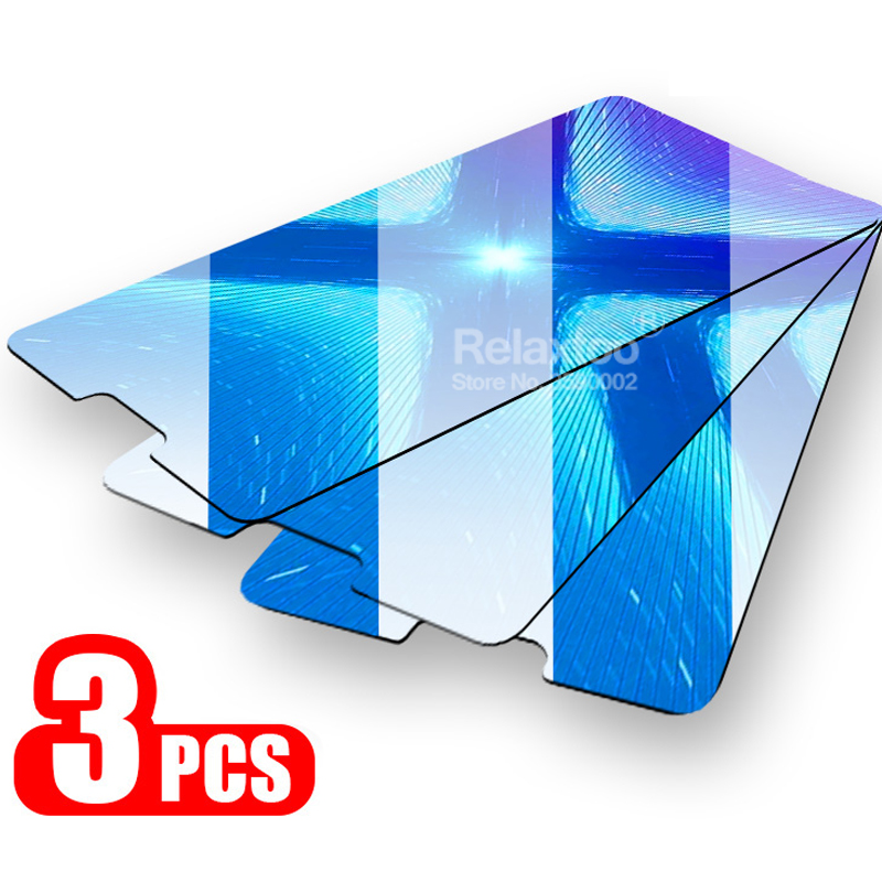3pcs Tempered Glass For Huawei Honor 8x 8s 8c 8a Pro 8 Lite Protective Glass On Honor 8 S X A C Honer A8 X8 C8 S8 9H Safety Film