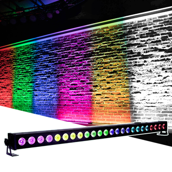 LED 24X4W RGBW 4IN1 Wall Wash Light DMX512 Par led Bar Light DJ Disco Club DMX Stage Party Show Effect Lighting Beam Wash 2IN1 12pcs illusion plastic par light rgbw 4in1 disco wash light equipment 8 channels dmx 512 led effect stage dj party lighting