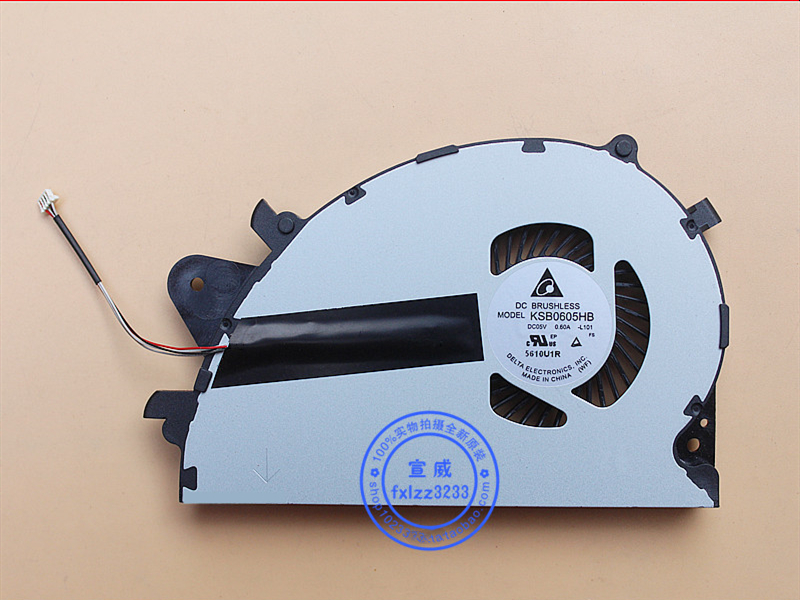 New CPU Cooler Fan For Sony Vaio SVS15 SVS1511 SVS1511S3C SVS1511S1C SVS1512 KSB0605HB -L101 5V 0.50A Radiator