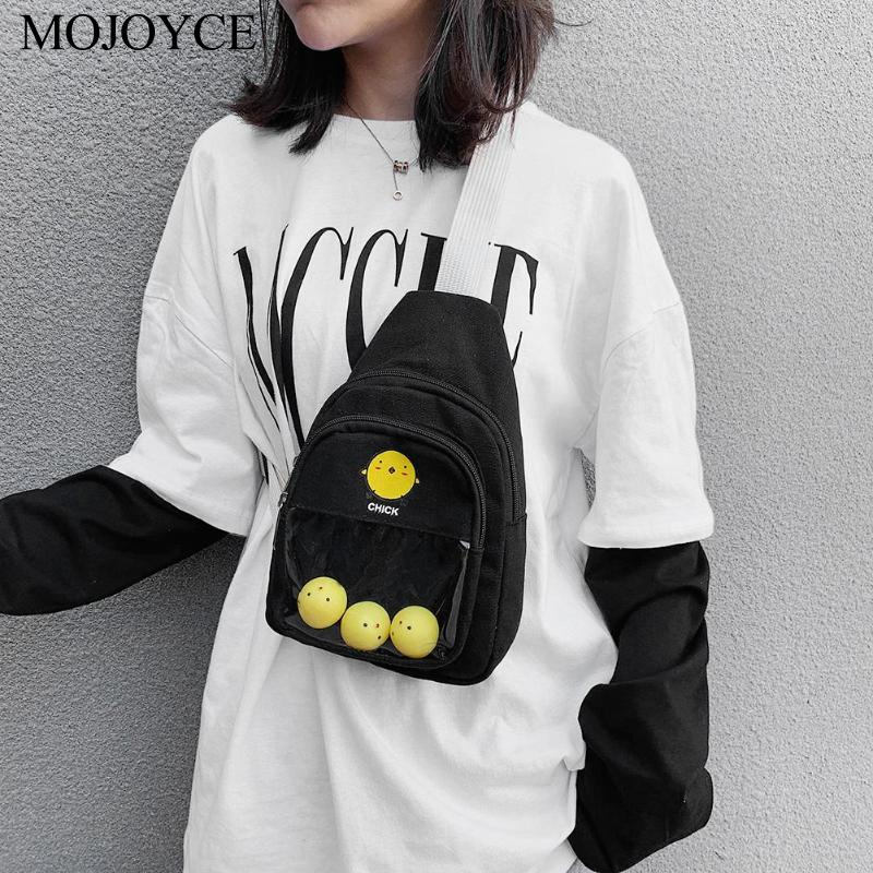 Fashion Mini Casual Travel Chest Bag Cartoon Cute Women Fanny Zipper Phone Waist Pack Totes Crossbody Shoulder Bags (in Stock)