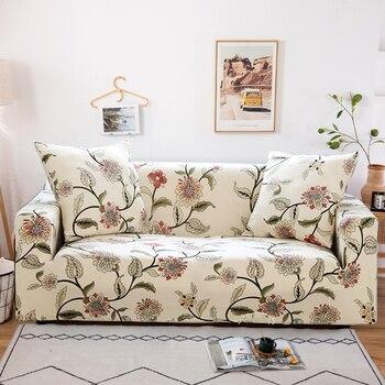 כיסוי לספה לא מחליק דוחה כתמים נמתח