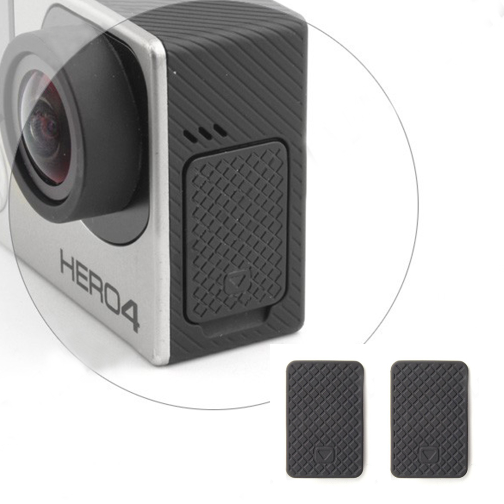 2pcs/lot For GoPro Mini USB Side Door Protective Cover Replacement For GoPro Hero 4 3+ 3 Sport Action Digital Camera Accessories